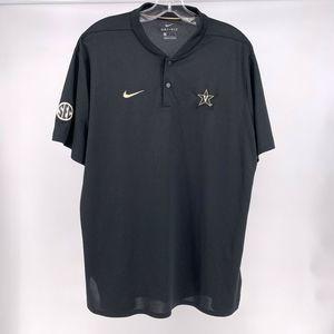 Nike Dri-Fit Vanderbilt Commodores Short Sleeve L